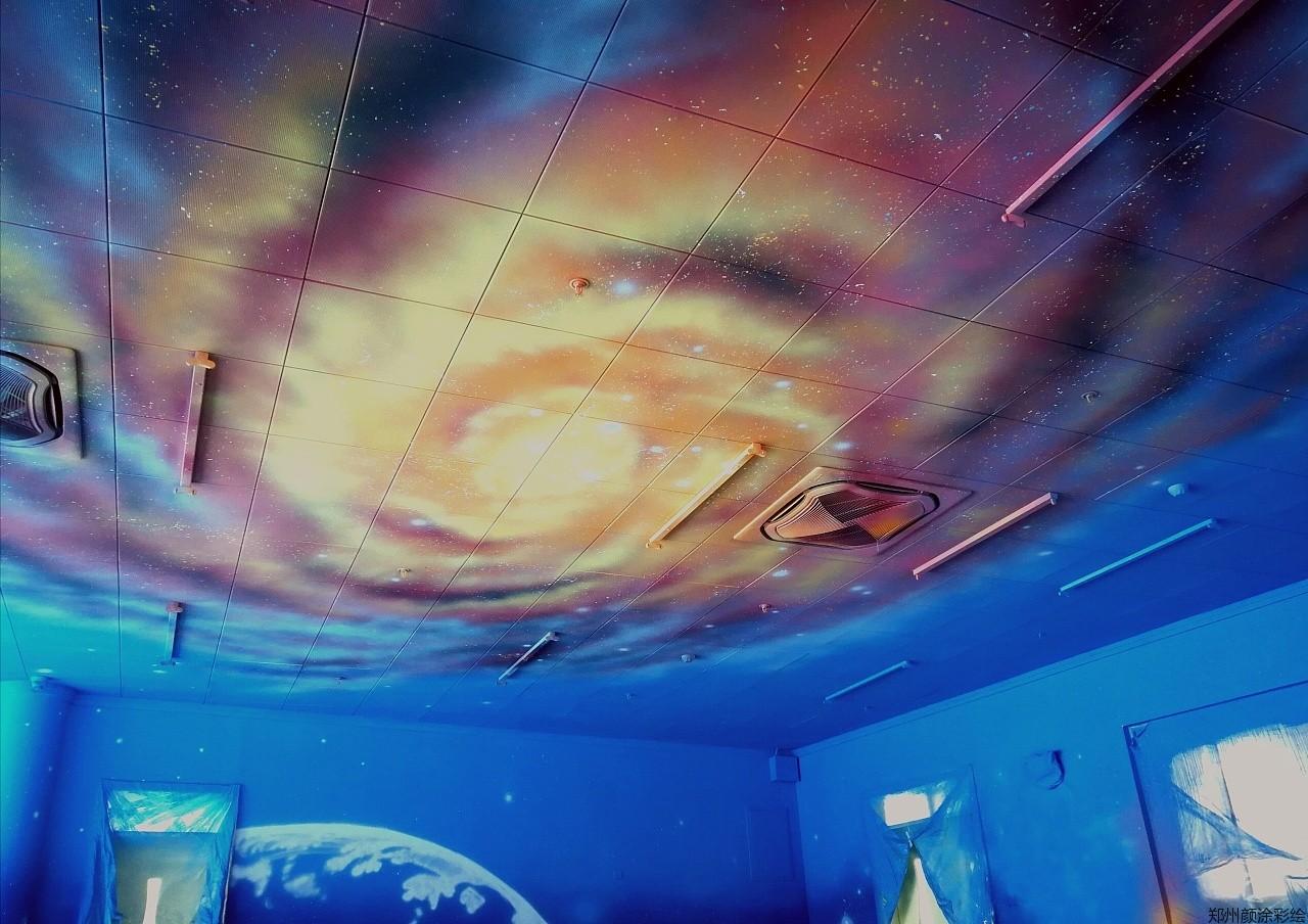 [幼儿园墙绘]新郑建业幼儿园星际迷航