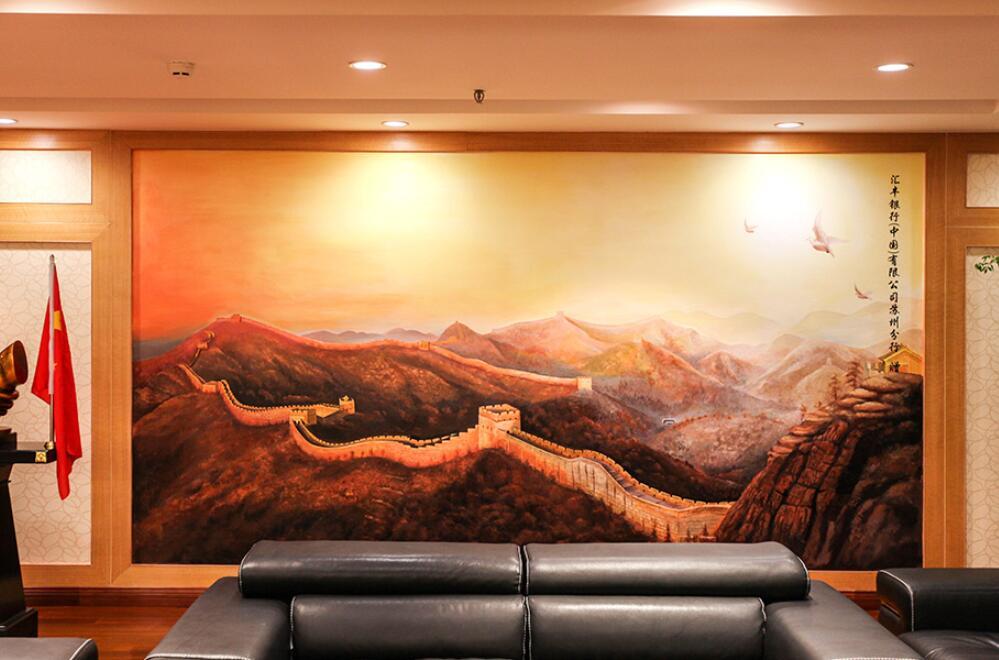 手绘墙画价格是多少,墙绘公司收费价格表